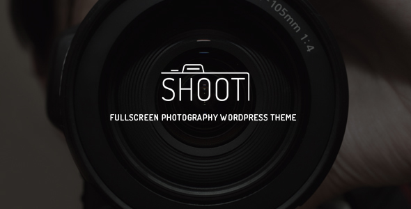 Wordpress Kreativ Template Shoot - Fullscreen Photography WordPress Theme