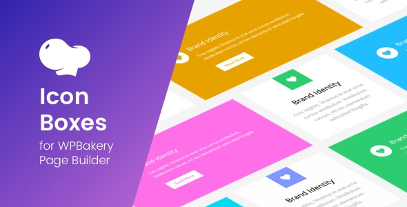 Wordpress Add-On Plugin Icon Boxes for WPBakery Page Builder (Visual Composer)