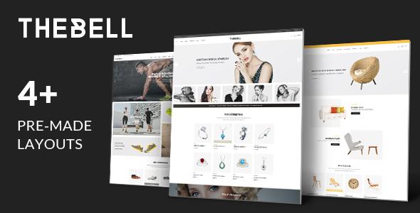 Wordpress Shop Template Thebell - Multipurpose Responsive WordPress Theme