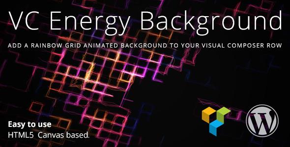 Wordpress Add-On Plugin VC Energy Background