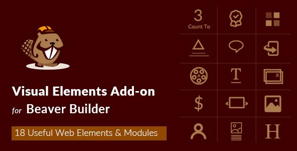 Wordpress Add-On Plugin Visual Elements Addon For Beaver Builder
