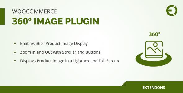 Wordpress E-Commerce Plugin WooCommerce 360º Image Plugin