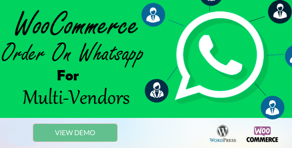 Wordpress E-Commerce Plugin WooCommerce Order On Whatsapp for Multi Vendor