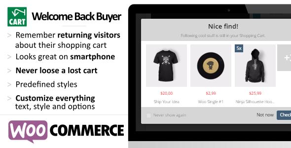 Wordpress E-Commerce Plugin WooCommerce Userfriendly Cart Reminder