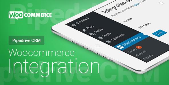 Wordpress E-Commerce Plugin Woocommerce - Pipedrive CRM - Integration