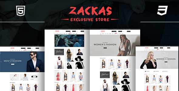 Wordpress Shop Template Zackas – WooCommerce WordPress Theme