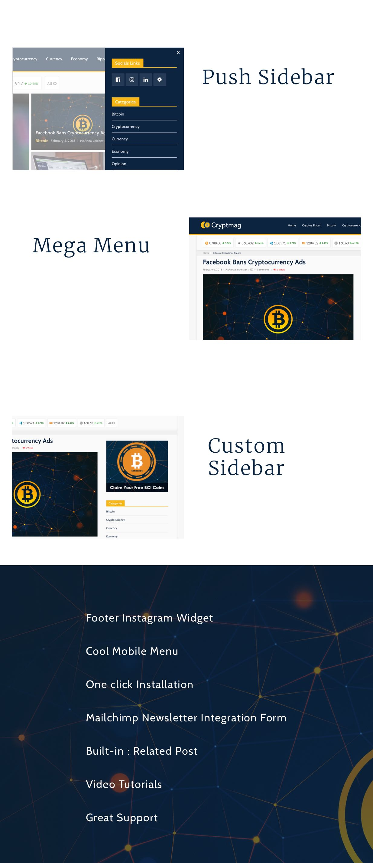 Coinmag - WordPress-Vorlage für das CryptoCurrency-Blog - 4
