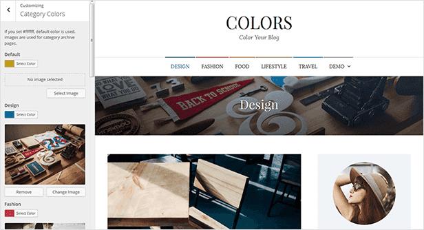 Farben - Einfaches Blog & Magazin WordPress Vorlage - 19