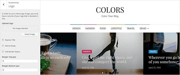 Farben - Einfaches Blog & Magazine WordPress Vorlage - 13