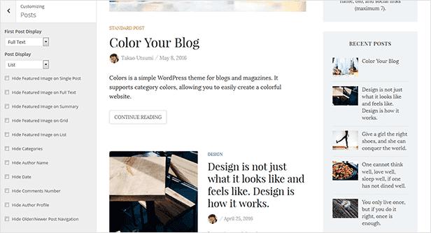 Farben - Einfaches Blog & Magazine WordPress Vorlage - 18