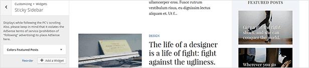 Farben - Einfaches Blog & Magazin WordPress Vorlage - 21