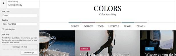 Farben - Einfaches Blog & Magazine WordPress Vorlage - 11