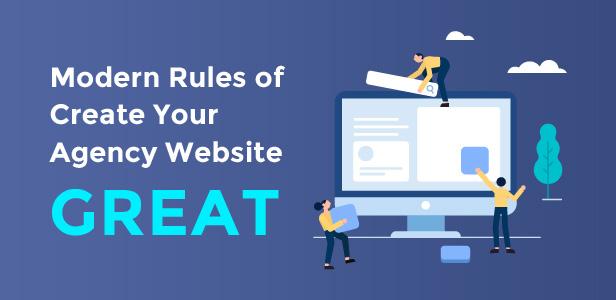 Die modernen Regeln für die Erstellung Ihrer Agentur-Website