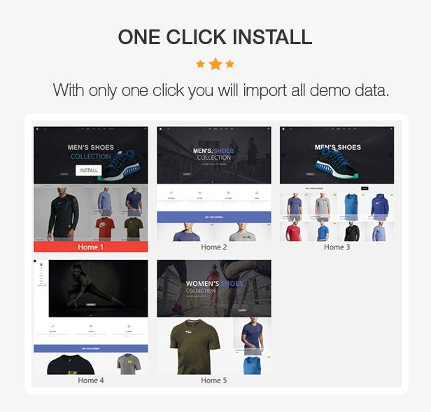 OneX - Fashion Sportswear Responsives WooCommerce-WordPress-Template - 5