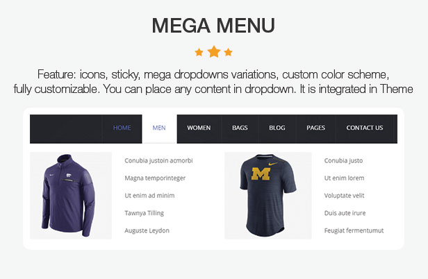 OneX - Fashion Sportswear Responsives WooCommerce-WordPress-Template - 9