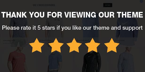 OneX - Fashion Sportswear Responsives WooCommerce-WordPress-Template - 12