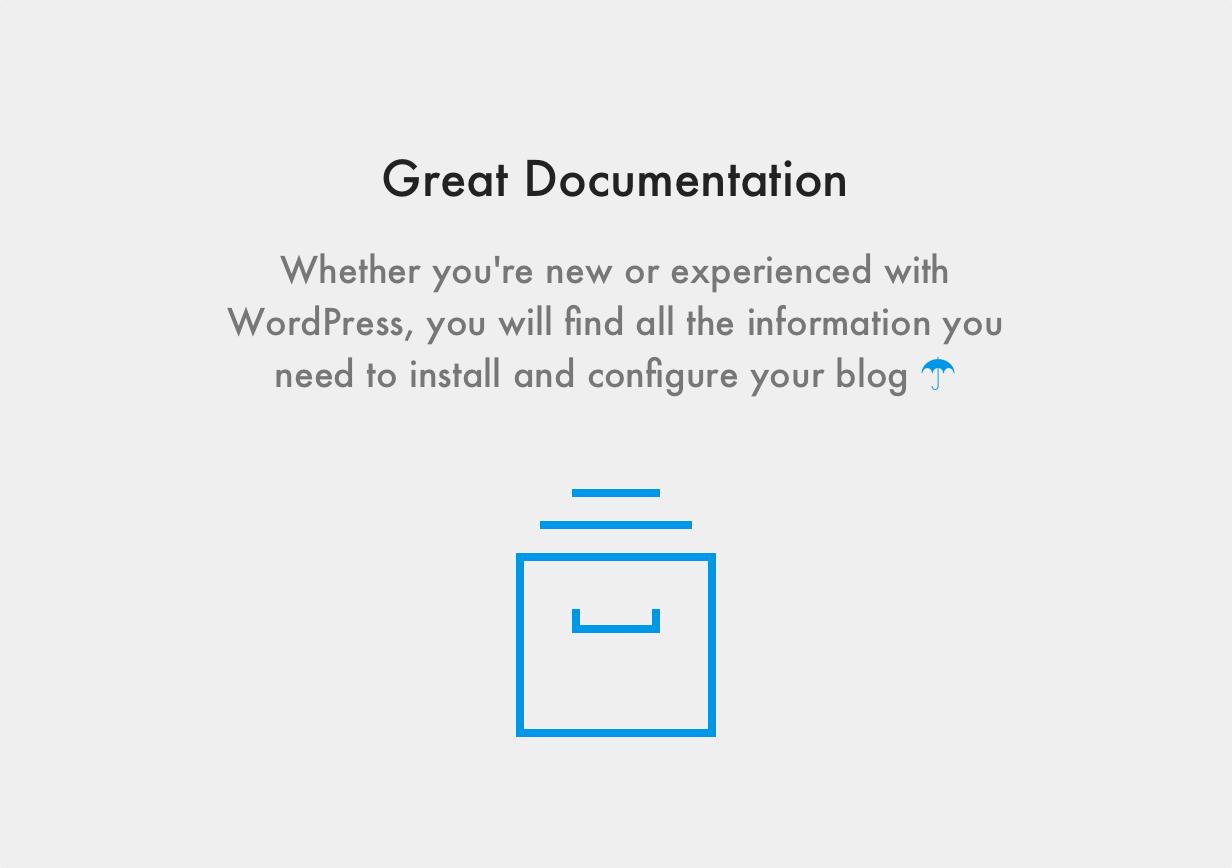 Maxima WordPress Template Detaillierte Dokumentation