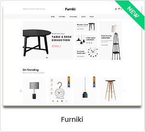 Furniki - Möbelhaus & Interior Design WordPress WooCommerce Template