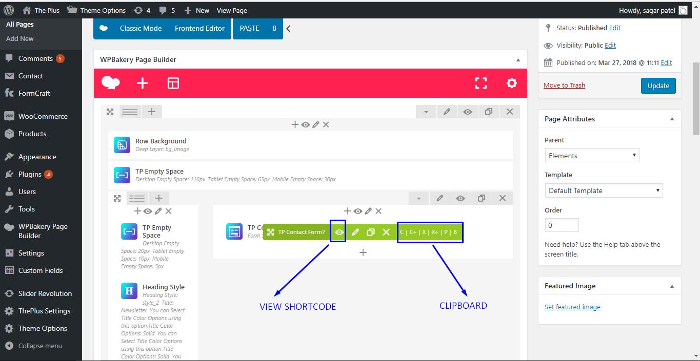 Ultimate Clipboard und View Shortcode Addon für WPBakery Page