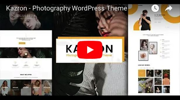 Fotografie-WordPress-Layout