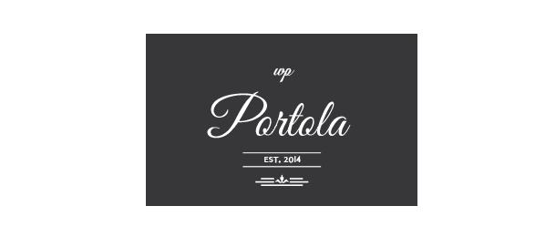 Portola WordPress Vorlage - 1