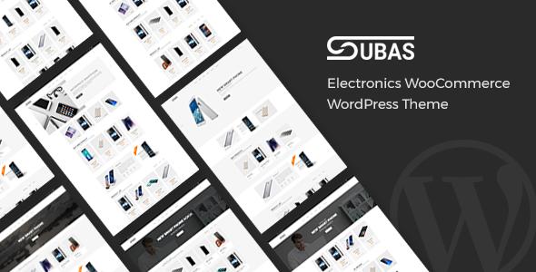 Subas - Elektronik WooCommerce WordPress Template