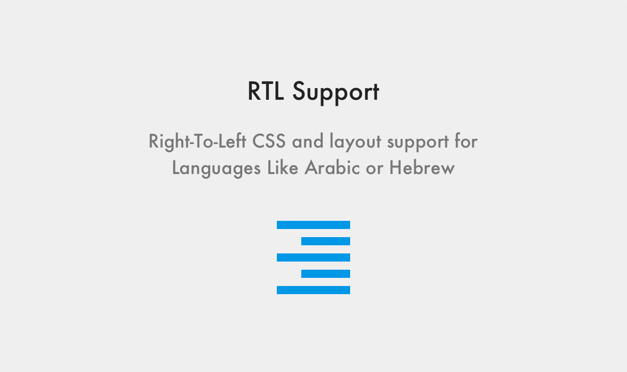 Maxima WordPress Template Rechts von links CSS- und Layout-Unterstützung für Sprachen wie Arabisch oder Hebräisch