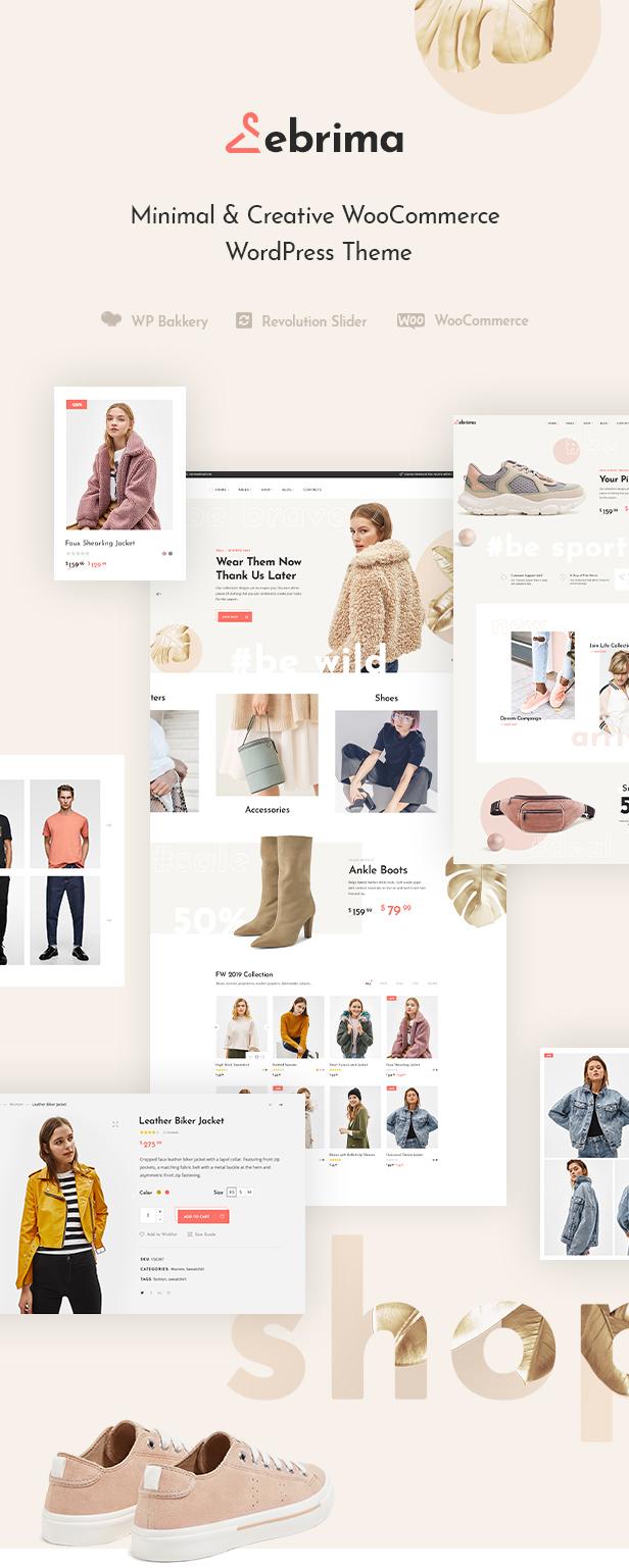Ebrima - Minimales und kreatives WooCommerce WP Vorlage - 2