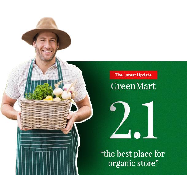 GreenMart - Bio & Lebensmittel WooCommerce WordPress Vorlage - 4
