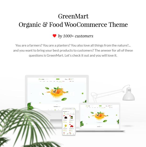 GreenMart - Bio & Lebensmittel WooCommerce WordPress Vorlage - 6