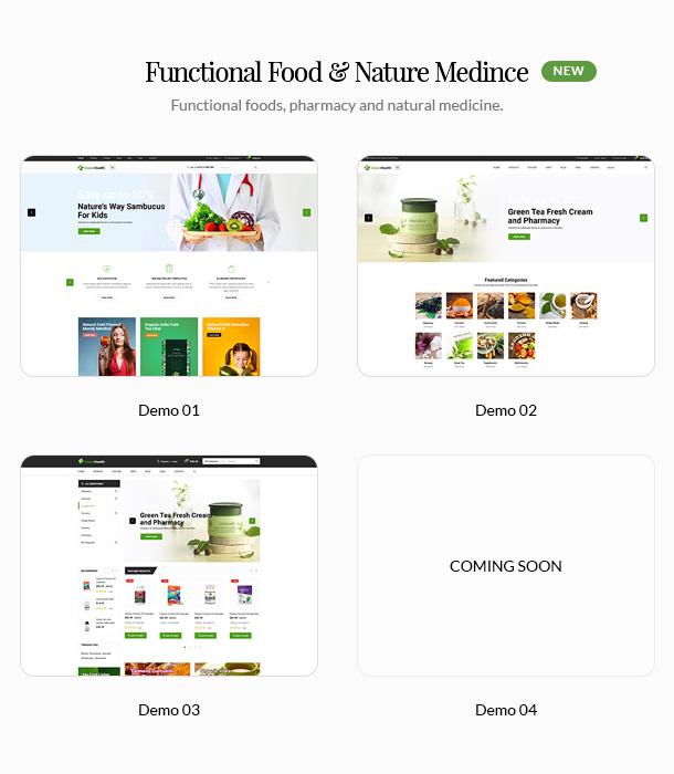GreenMart - Bio & Lebensmittel WooCommerce WordPress Vorlage - 8