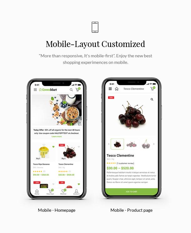 GreenMart - Bio & Lebensmittel WooCommerce WordPress Vorlage - 13