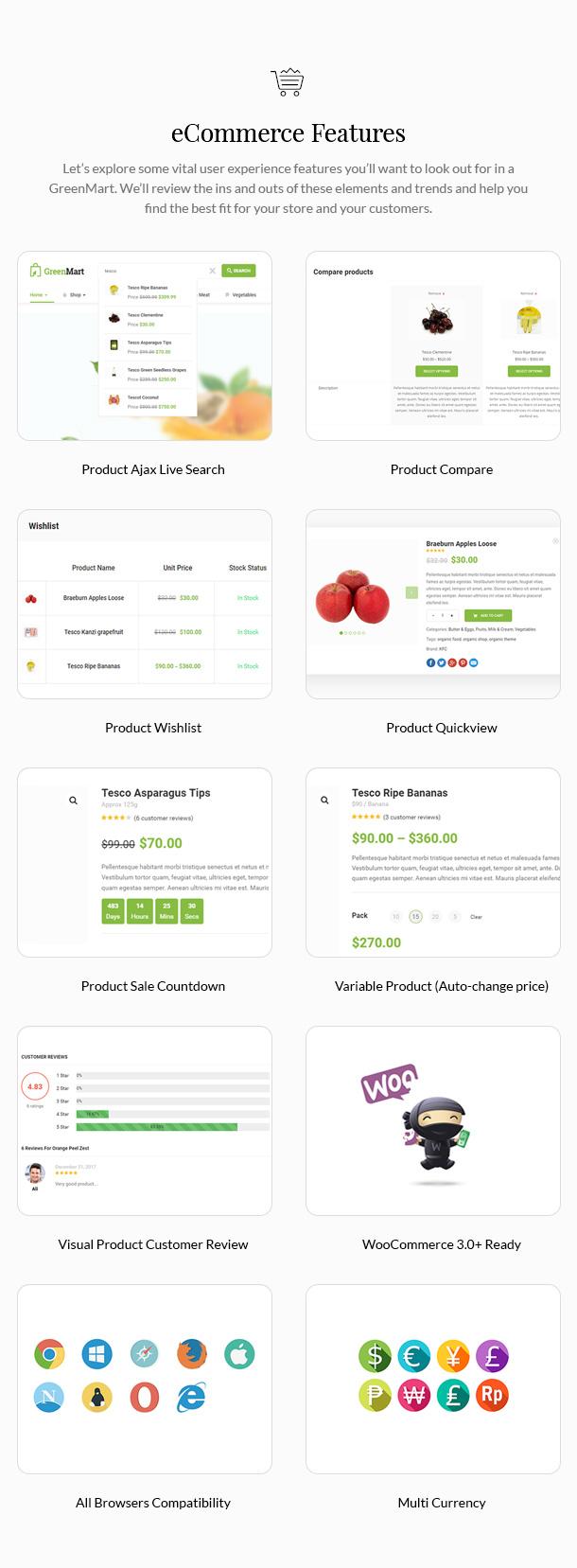 GreenMart - Bio & Lebensmittel WooCommerce WordPress Vorlage - 14