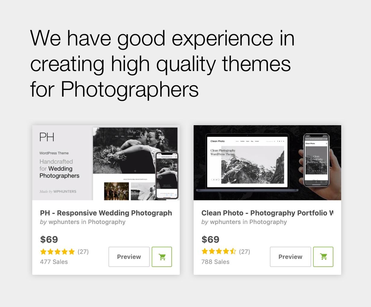 Asra - Minimalistisches Fotografieportfolio WordPress Template - 4