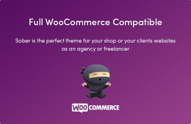 Nüchternes WordPress WooCommerce