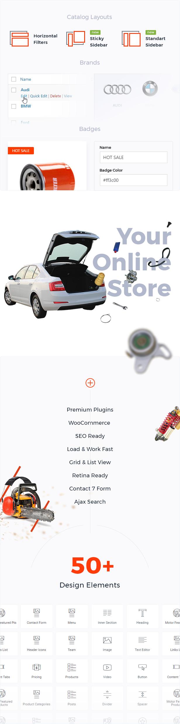 Kraftfahrzeuge, Teile, Ausrüstungen und Zubehör WooCommerce Store - 4