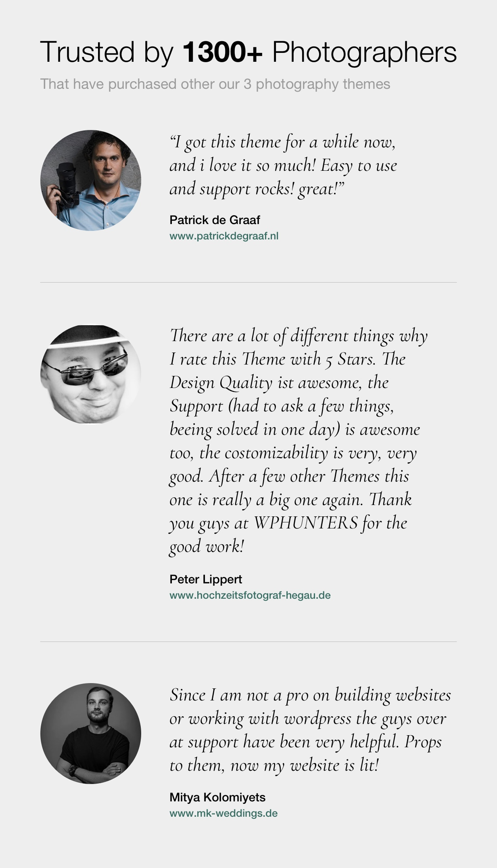 Asra - Minimalistisches Fotografie-Portfolio WordPress-Template - 21