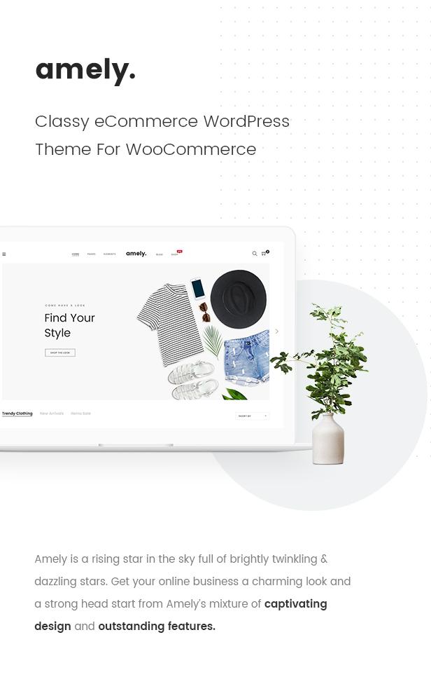 Mode WooCommerce WordPress Template - Klassisches eCommerce WordPress Template