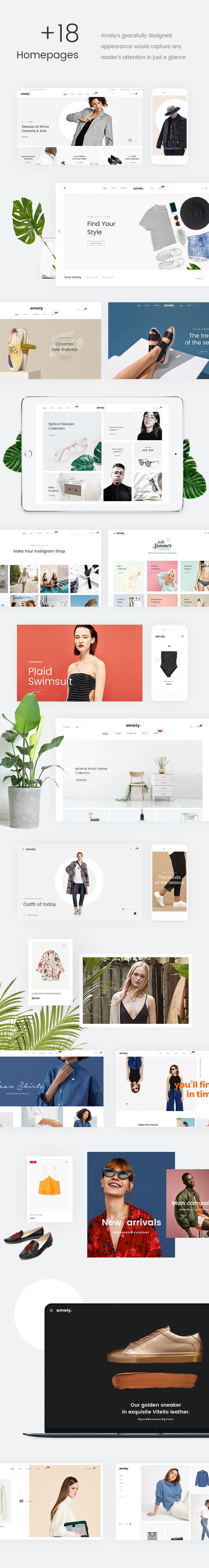 Mode WooCommerce WordPress Template - 18+ Homepages