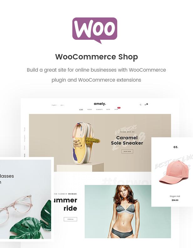 Mode WooCommerce WordPress Template - WooCommerce Shop
