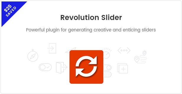 Mode WooCommerce WordPress Template - Revolution Schieberegler
