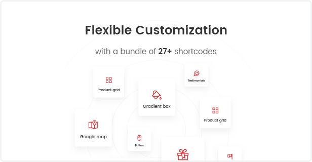 Fashion WooCommerce WordPress Template - Flexible Anpassung