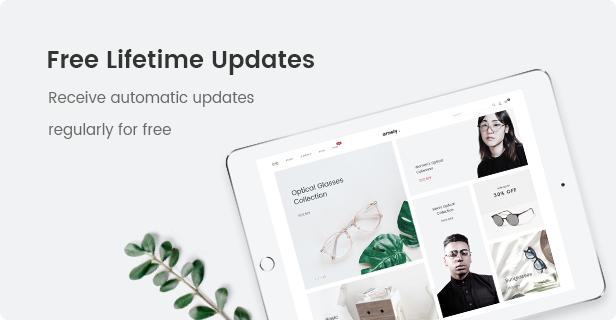 Fashion WooCommerce WordPress Template - Kostenloses Update auf Lebenszeit