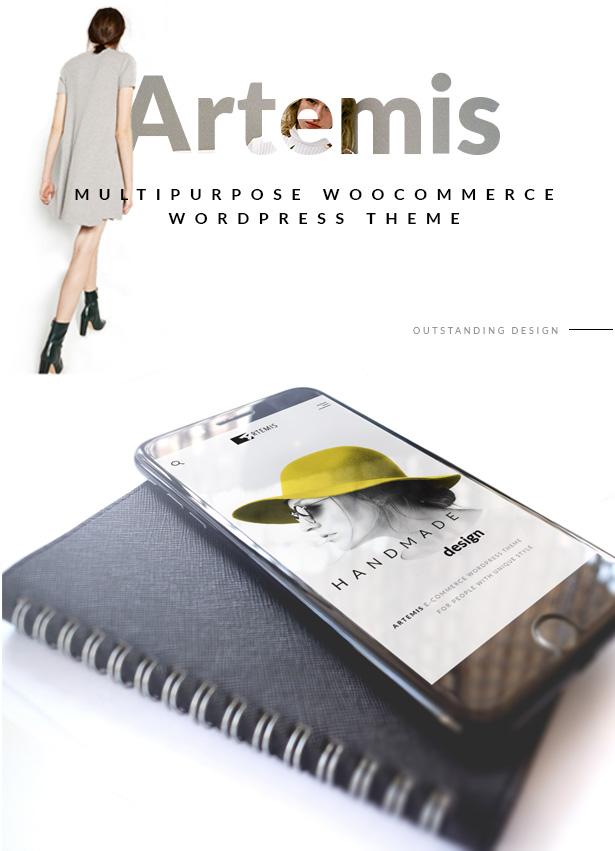 Artemis WooCommerce WordPress-Template