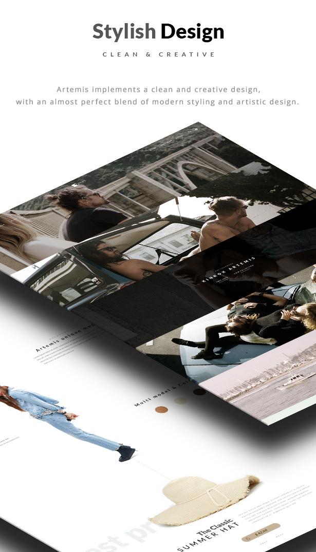 Artemis WooCommerce WordPress Template Stilvolles Design