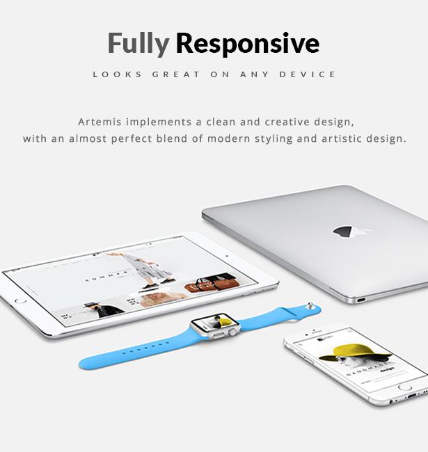 Artemis WooCommerce WordPress Template Responsive