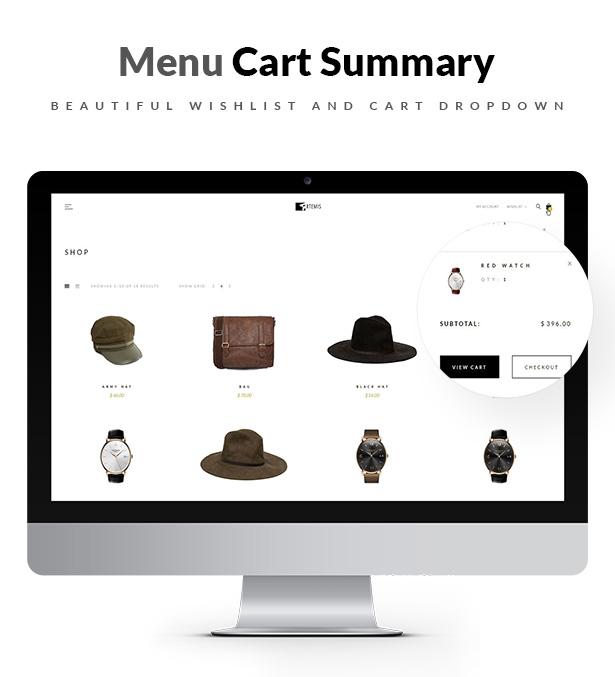 Artemis WooCommerce WordPress-Template-Auswahl