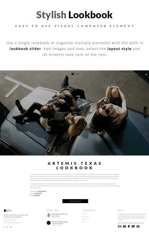 Artemis WooCommerce WordPress Template QuickView