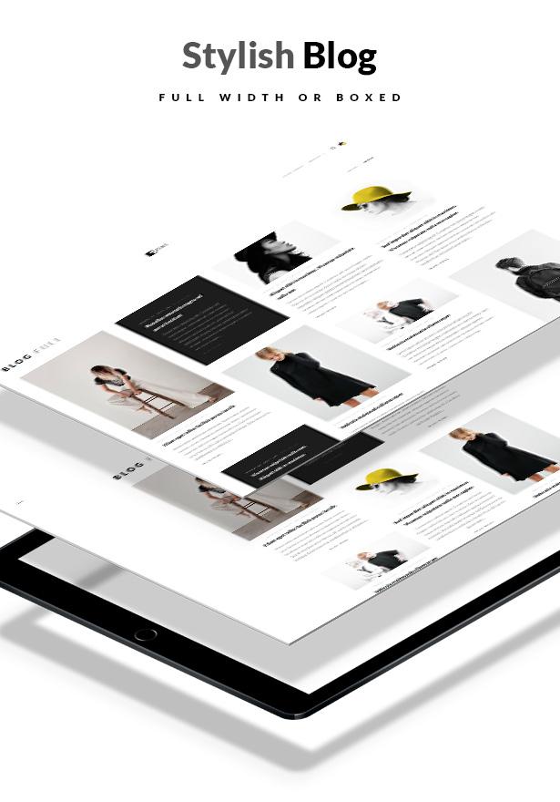 Artemis WooCommerce WordPress Template Seitenvorlagen