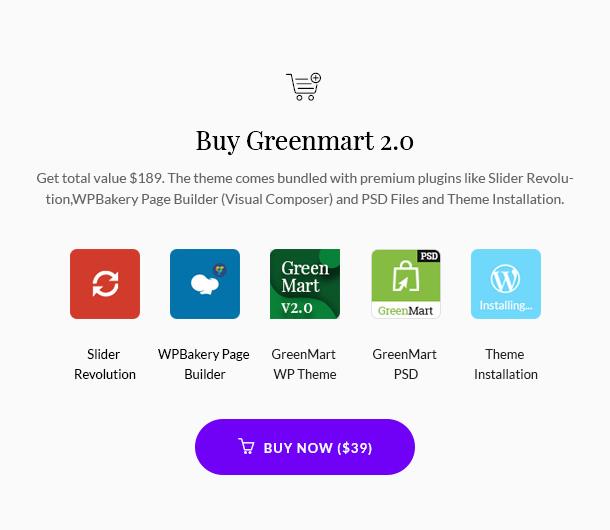 GreenMart - Bio & Lebensmittel WooCommerce WordPress Vorlage - 20